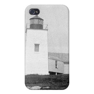 Nash Island Lighthouse iPhone 4 Case
