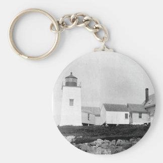 Nash Island Lighthouse Keychains