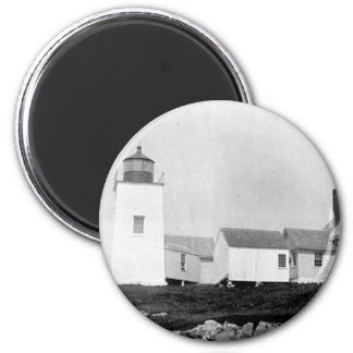 Nash Island Lighthouse Fridge Magnet