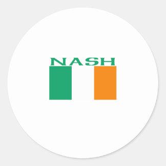 Nash Round Sticker