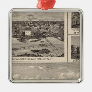 Nashua farm and residence christmas ornament