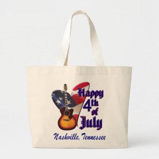 Nashville 4th of July Jumbo Tote