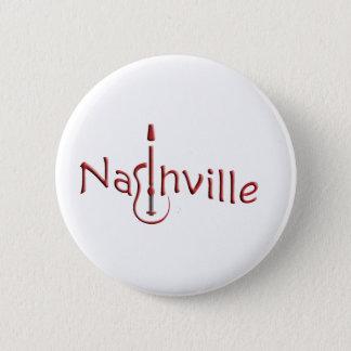 nashville 6 cm round badge