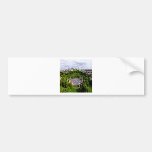 Nashville Aerial photo Bumper Sticker