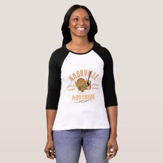 Nashville Aquarius Women's Raglan T-Shirt