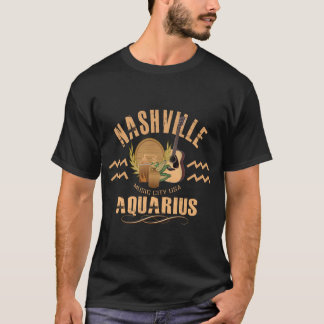 Nashville Aquarius Zodiac Men's Shirt