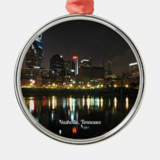 Nashville at Night Christmas Ornament