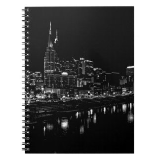 Nashville At Night Notebooks