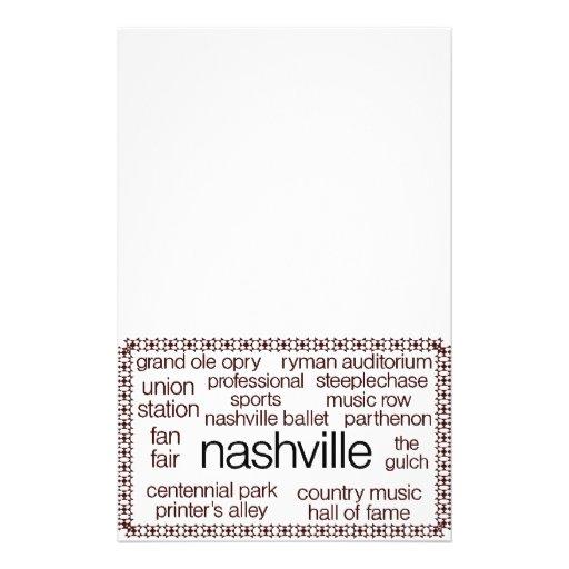 Nashville Brown Flyer Design