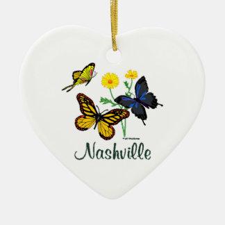 Nashville Butterflies Christmas Ornament