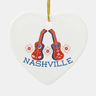 Nashville Christmas Ornament