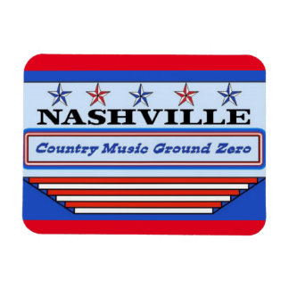 Nashville Country Music GZ Magnet