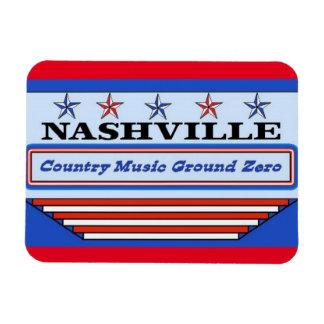 Nashville Country Music GZ Rectangular Photo Magnet