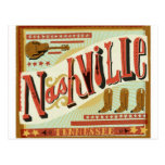 Nashville, Country Theme Post Card