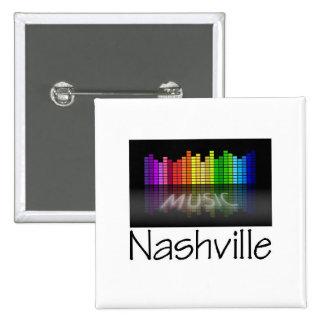 Nashville Equalizer 15 Cm Square Badge