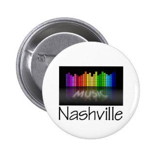 Nashville Equalizer 6 Cm Round Badge