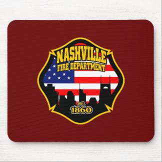 Nashville Fire Department Mouse Mat