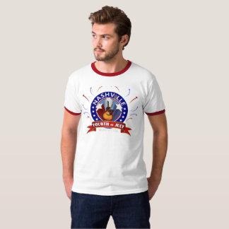 Nashville Fourth of July Ringer T-Shirt