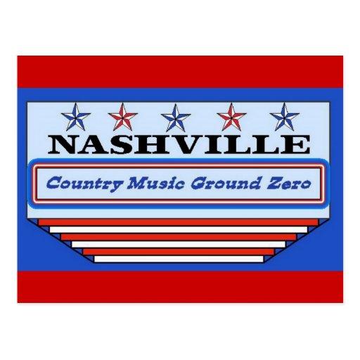 Nashville Ground Zero Post Card