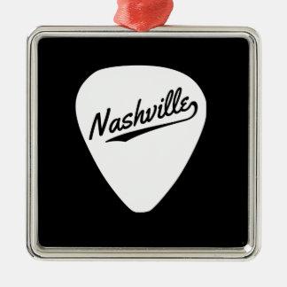 Nashville Guitar Pick Christmas Ornament