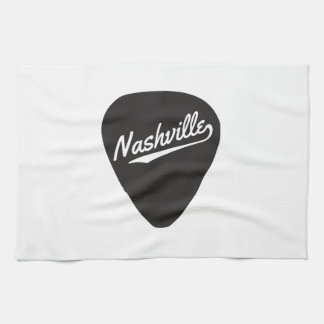 Nashville Guitar Pick Hand Towel