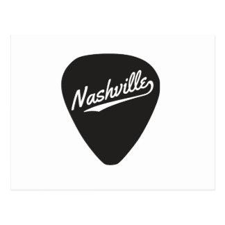 Nashville Guitar Pick Postcard