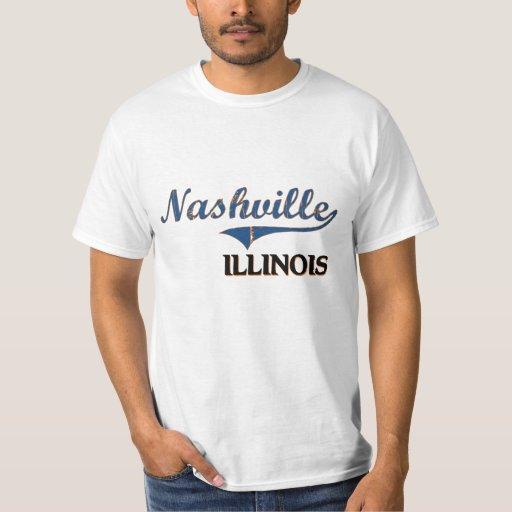 Nashville Illinois City Classic Tee Shirt