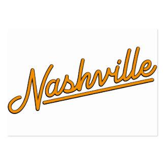 Nashville in Orange Business Cards