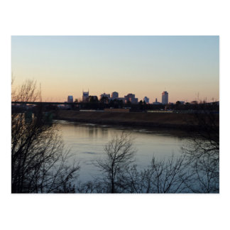 Nashville in the Distance Postcard