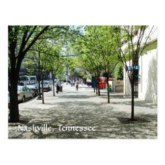 Nashville in the Past: Deaderick Street 2007 Postcard
