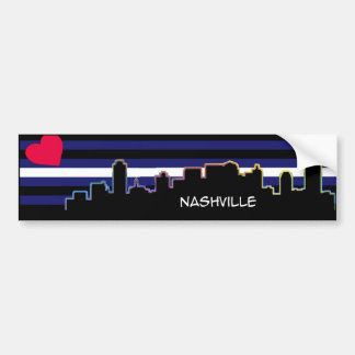 Nashville Leather Pride Bumper Sticker