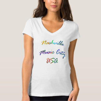 Nashville Music City T-Shirt
