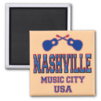 Nashville, Music City USA Magnet