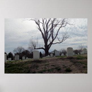 Nashville National Cemetery poster