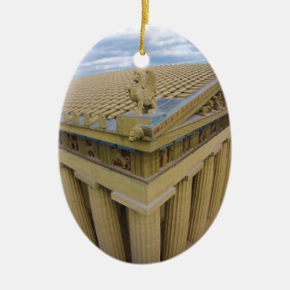 Nashville Parthenon Christmas Ornament