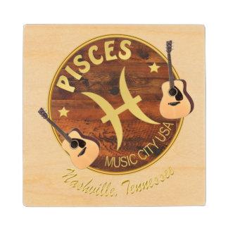 Nashville Pisces Wooden Coaster Wood Coaster