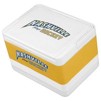 Nashville Plays Hockey 12 Can Cooler Igloo Cooler