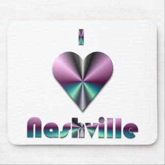 Nashville -- Purple & Turquoise Mouse Pads