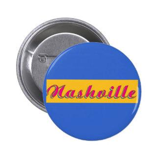 Nashville Script 6 Cm Round Badge