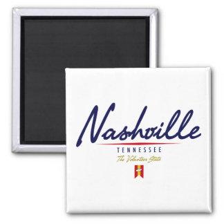 Nashville Script Refrigerator Magnets