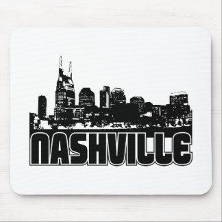 Nashville Skyline Mouse Mat