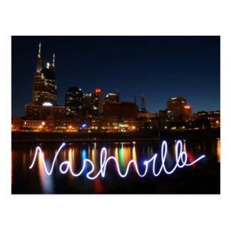 Nashville Skyline Postcard