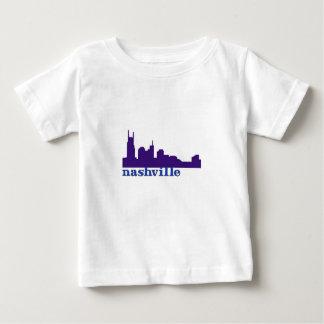 Nashville Skyline Purple Tee Shirts