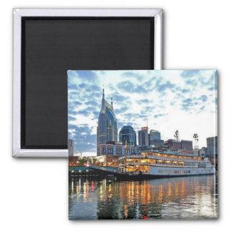 Nashville Square Magnet