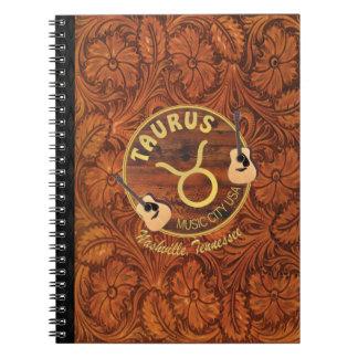 Nashville Taurus Spiral Notebook