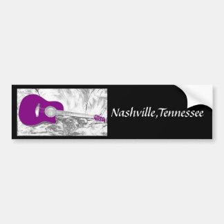 Nashville,Tennessee Bumper Sticker
