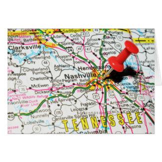 Nashville, Tennessee Card