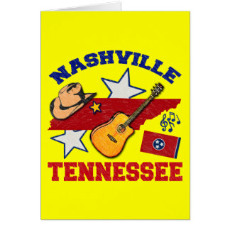 Nashville, Tennessee Card