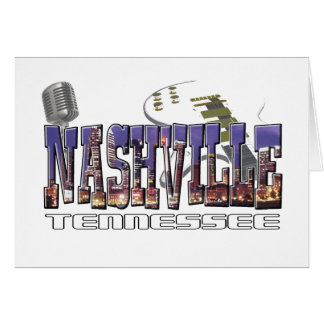 Nashville Tennessee Card