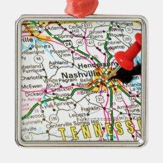 Nashville, Tennessee Christmas Ornament